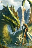 Flight of the Dragon Kyn by kerembeyit