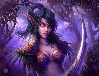 Night Elf by kerembeyit