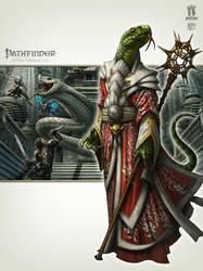 Sanctum of the Serpent God by kerembeyit