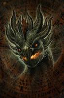 Lava Dragon by kerembeyit