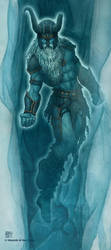 Hyrkzag the Frost Giant Ghost by kerembeyit