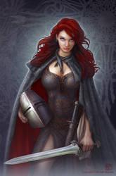 Female Guardian by kerembeyit