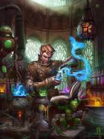 Alchemy Manual Cover by kerembeyit