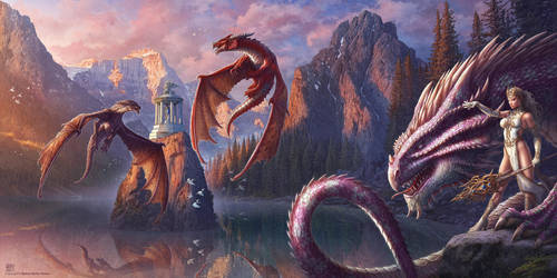 Dragon Valley by kerembeyit
