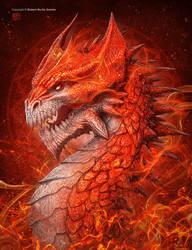 Sun Dragon by kerembeyit