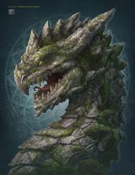 Earth Dragon by kerembeyit