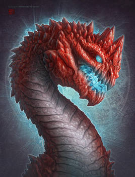 Ruby Dragon by kerembeyit