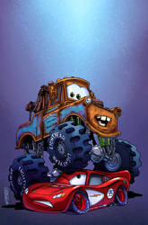 CARS TPB by rachellerosenberg