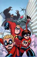 Incredibles Cover 15 by rachellerosenberg