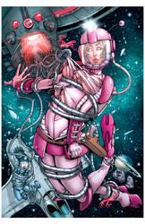 Space Girl by rachellerosenberg