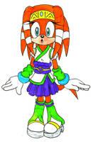 Tikal Alt Costume by Sonicguru