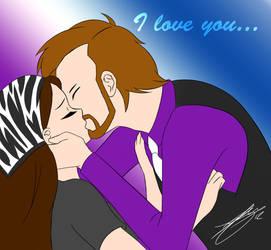 I love you... by Sonicguru