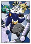 Comet Comic Panel by Sonicguru
