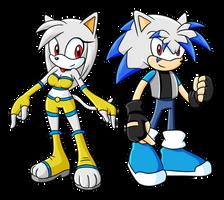 Jade and Power-X by Sonicguru