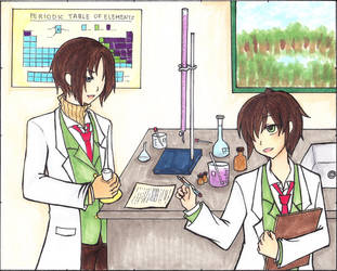 Fiddling With Chemistry by YouMiCiel