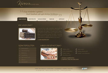 Lawyer firm design by OakmE