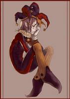 Jester Unamused by Sandfreak