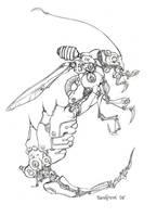Robotbug by Sandfreak