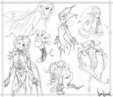 Doodles by Sandfreak