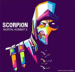 Scorpion (Mortal Kombat X) by WahyuAjiSadewa
