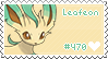 Leafeon Stamp by Deleca-7755