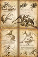 Nightmare Menagerie I by Art-Minion-Andrew0