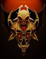 Four Skulls by zamoth