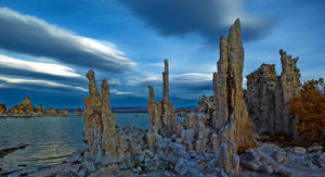 Mono Lake, continued by coulombic