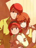 Commission - Izumi's family by moremindmel0dy