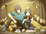 Commission - Pandora and Sebastian VII by moremindmel0dy