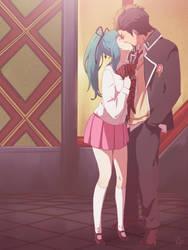 Commission - Mira and Ryuji by moremindmel0dy