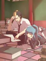Commission Mira and Ryuji IV by moremindmel0dy