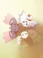 Digimon - Trio by moremindmel0dy