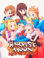 Harvest Moon - Mineral's Girls by moremindmel0dy