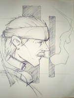 Solid Snake by emonic1