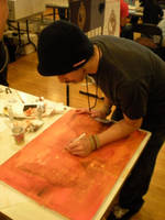 Live Art at Sac Show. by emonic1