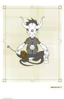 Flower Card by emonic1