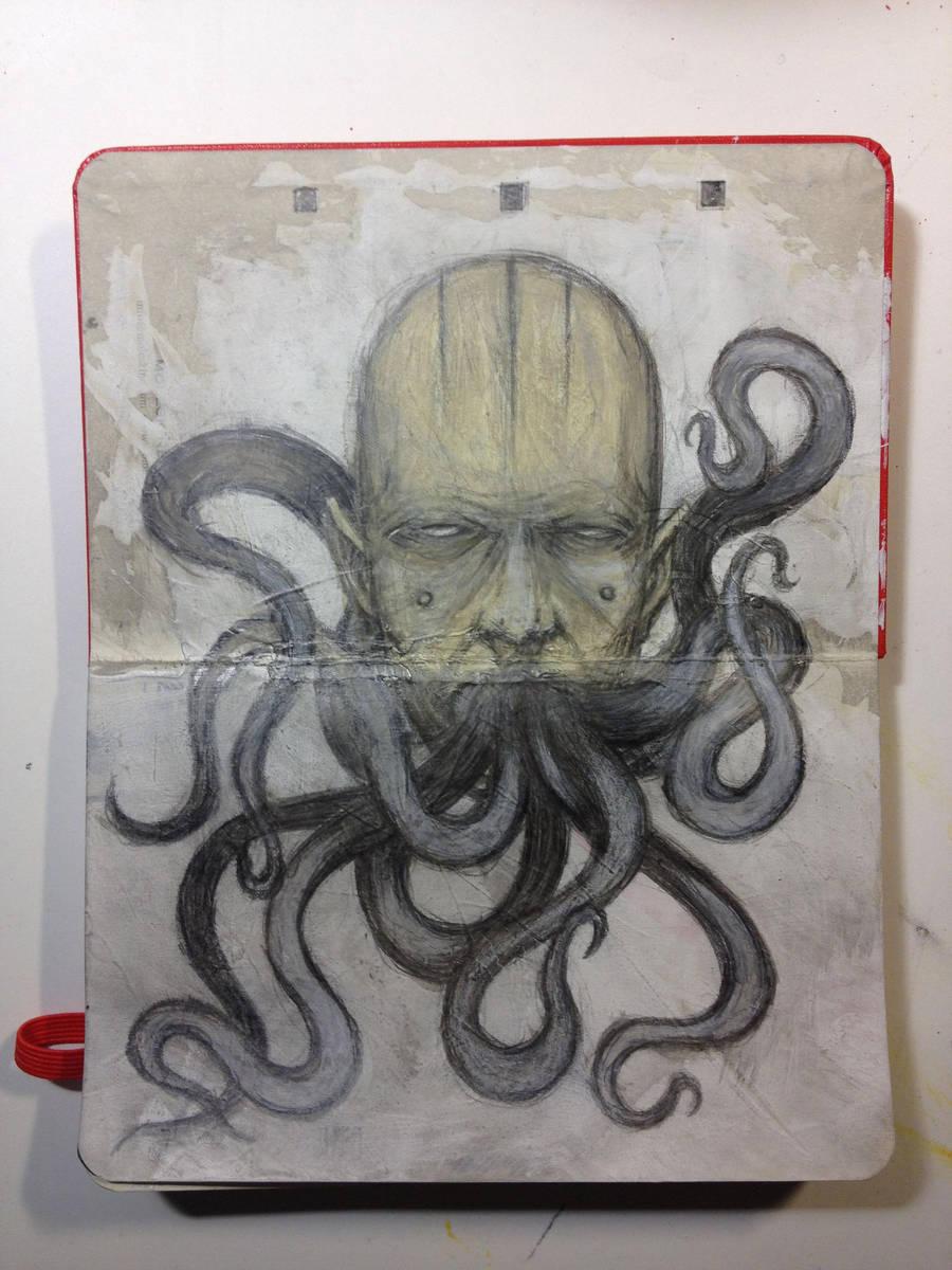 Sketchbook: Strange things speak. by emonic1