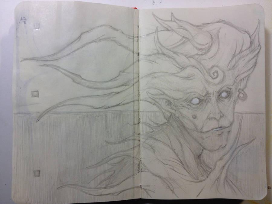 Sketchbook:No sleep to dream. by emonic1