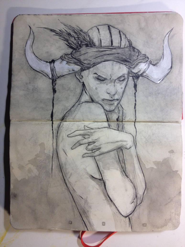 Sketchbook: Mystic by emonic1