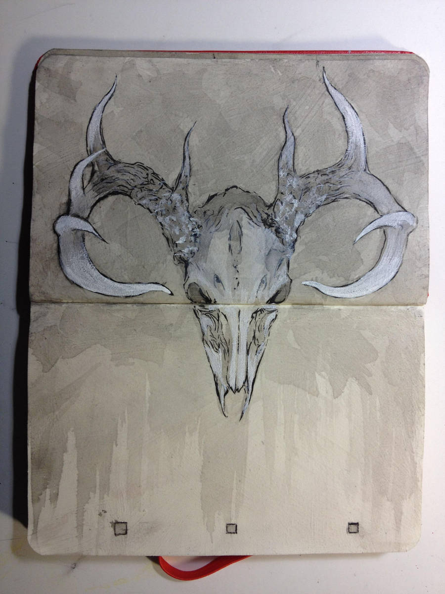 Sketchbook : Cervus by emonic1