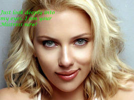 Scarlett Johansson Hypnotizes You by charcomb