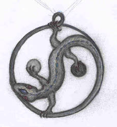 Magical pendant by Panartias