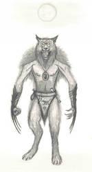 True werewolf and priest of Malar by Panartias