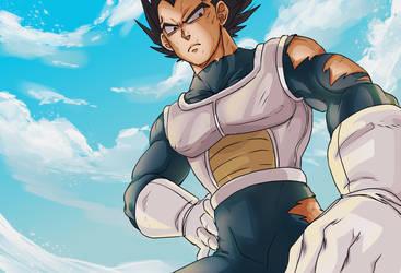 Dragon Ball Super - Blue Sky by RedViolett