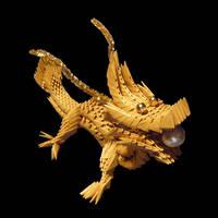 Origami Dragon by BopBob