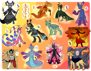 Assortment of Candies : Adopts (6/12) by TigToq