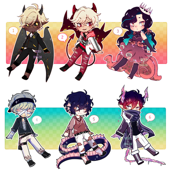 monster collab adopts !! [$25/2500 pts - CLOSED] by SpadeAdopt