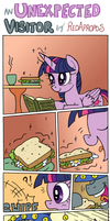 An Unexpected Visitor by RedApropos