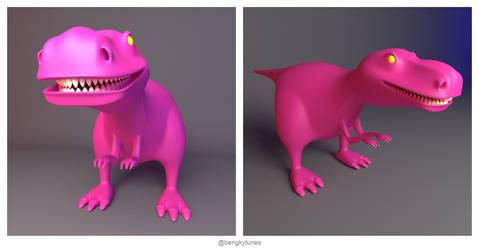 Bad Barney by bnky